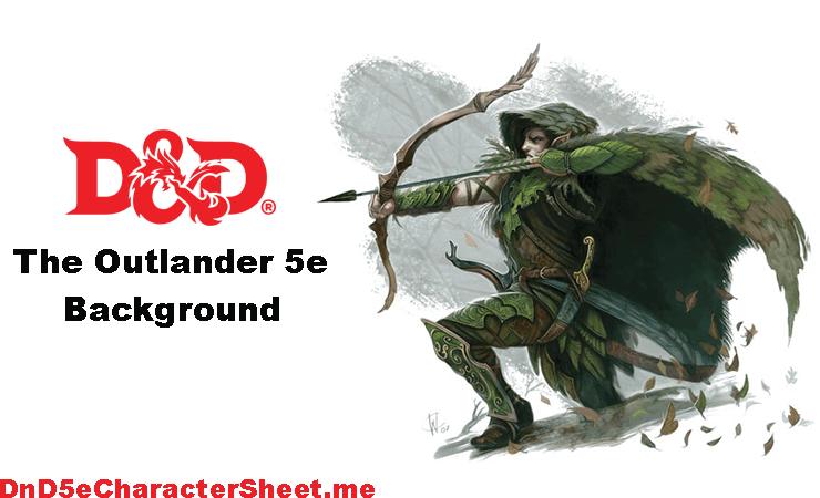 The Outlander 5e Background