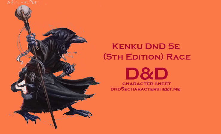 Kenku DnD 5e (5th Edition) Race